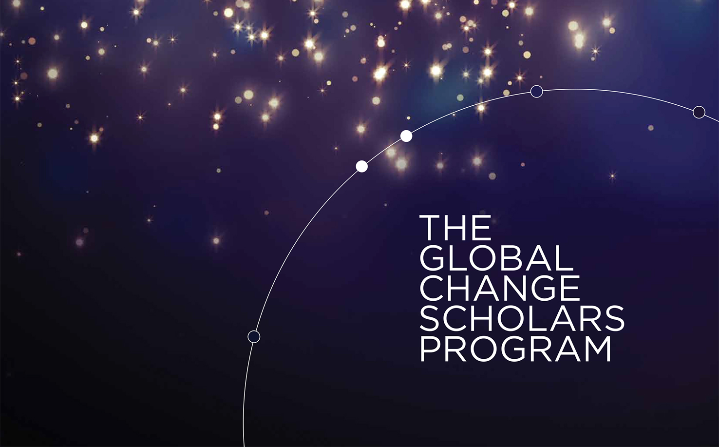 Global Change Scholars Program